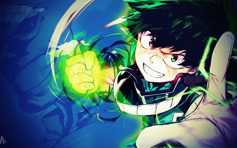Boku-No-Hero-Academia-anime-boy-punch