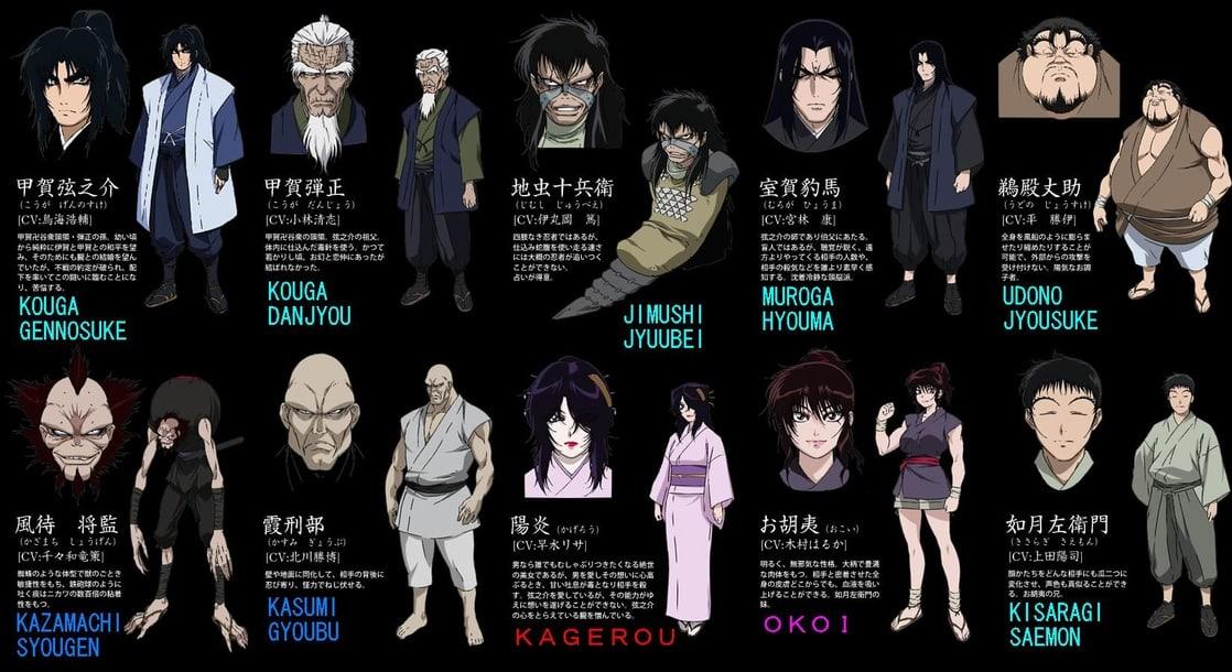 *The Kouga clan*