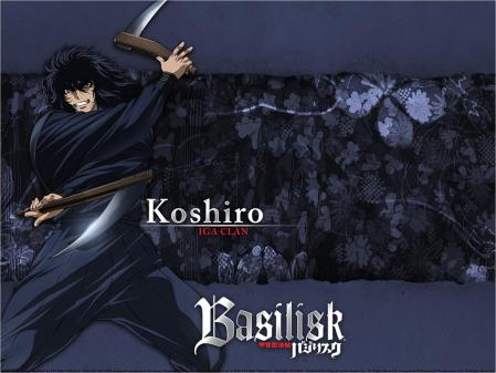 *Koshiro of the Iga clan*