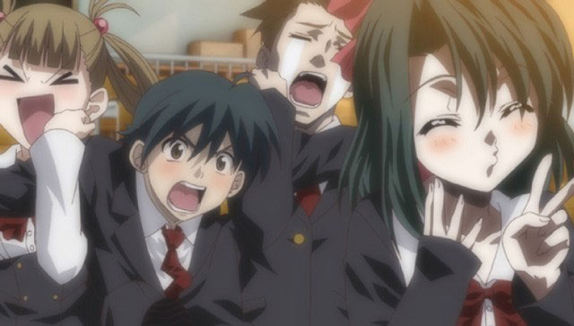 *Some of the main characters having fun*