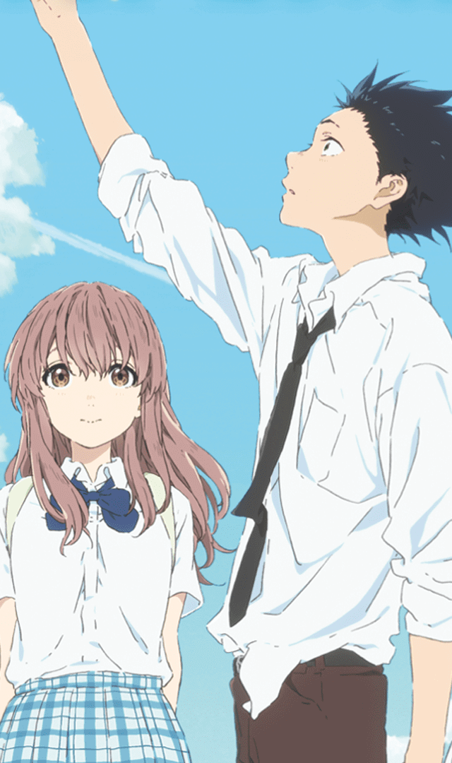 Image result for a silent voice cover