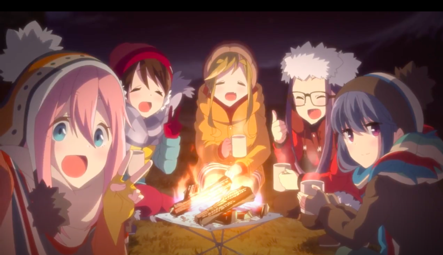 Anime Review - Yuru Camp - Maximum Comfiness - LoveFishy's Adventures